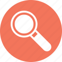 find, loop, research, search, zoom icon