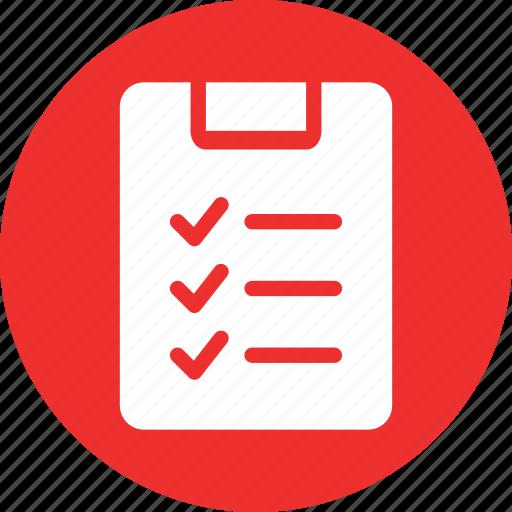 checklist, notepad, notes, todo icon