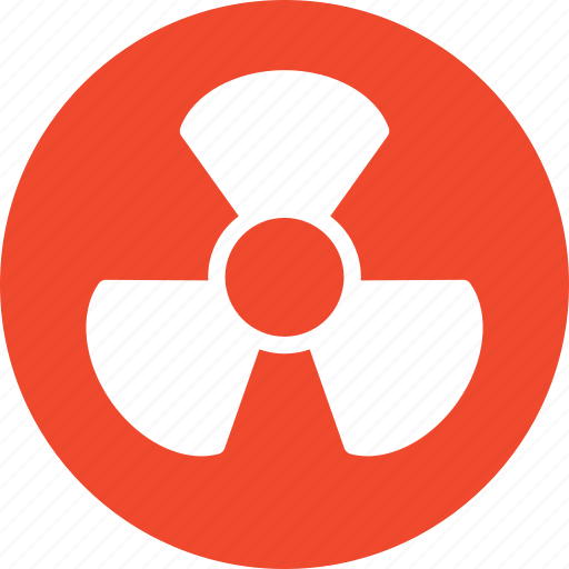 chemical, danger, lab, nuclear, weapons icon