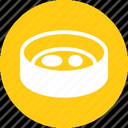 dish, experiment, lab, petri, substance icon