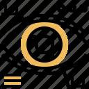 bionic, eye, recognition, retina, vision icon