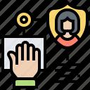algorithm, hand, identify, information, scanning