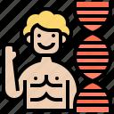 chromosome, dna, genome, human, strand