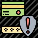 card, false, notify, rejection, warning
