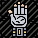clothing, digital, futuristic, glove, hand