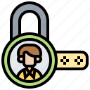 decode, locked, password, privacy, wrong