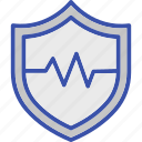 life insurance, life security, protection, safety shield, secure life icon