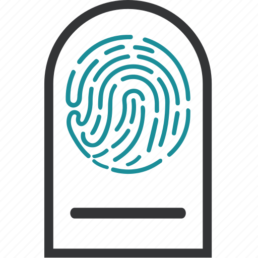 biometric, biometry, data, identification, identity icon