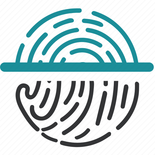 biometric, data, pringerprint, recognition, scan icon