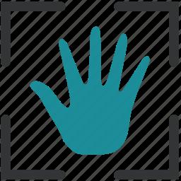 biometric, finger, fingerprint, scan icon