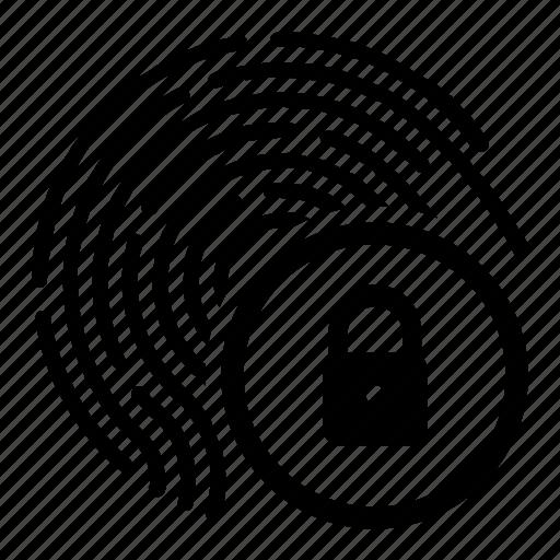 biometry, dactyl, finger, lock icon