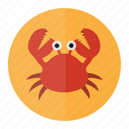 cancer, crab, restorent, sea, seafood icon