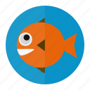 fish, fishing, ocean, sea, water icon