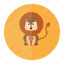 lion, animal, forest, jungle, wild