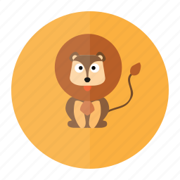 animal, forest, jungle, lion, wild icon