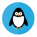 bird, penguin, penguins, snow icon