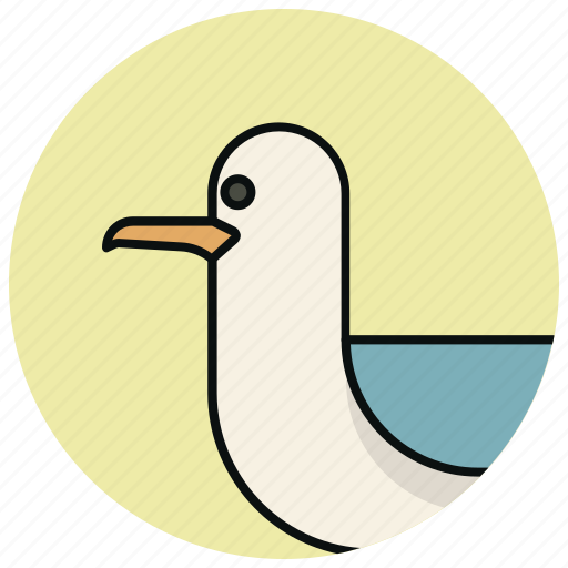 bird, cormorant, ocean, sea icon