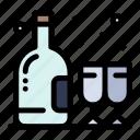 alcohol, birthday, bottle, glass