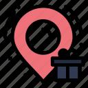 birthday, box, location