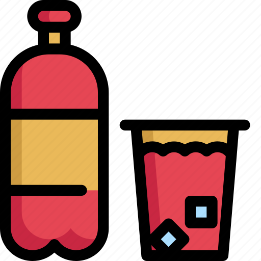 beverage, birthday, celebration, decoration, drink, party, softdrink icon