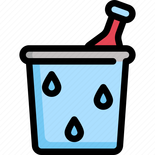 beverage, birthday, champagne, decoration, drinks, party icon