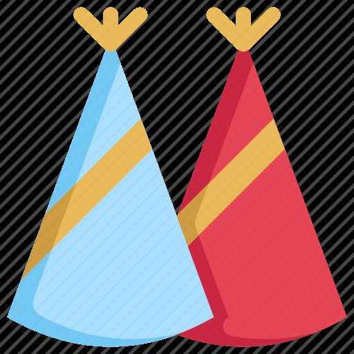 birthday, cap, celebration, decoration, hat, party icon