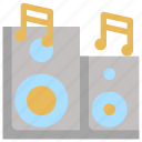 audio, birthday, decoration, dvd, megaphone, music, party icon