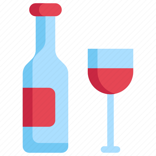 birthday, celebration, decoration, glass, party, wine icon
