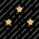 decoration, firework, shooting, sparkle, stars
