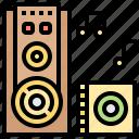 audio, music, song, speaker, stereo