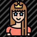 beauty, crown, female, queen, woman