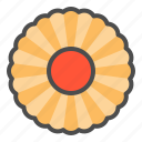 biscuit, cookie, cracker, jam, spritz icon
