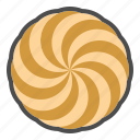 biscuit, cookie, cracker, spritz icon