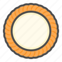 biscuit, cookie, cracker, cream cheese cookie icon