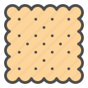 biscuit, cookie, cracker icon