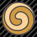 biscuit, cookie, cracker, pinwheel icon