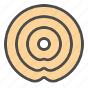 biscuit, cookie, cracker, ring icon