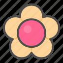 biscuit, cookie, cracker, flower icon