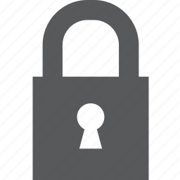 close, lock, locked, password, privacy, private, protection icon
