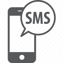bubble, chat, message, mobile, phone, sms, talk icon