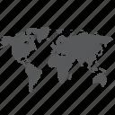 map, globe, global, internet, earth, international, location