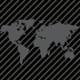 earth, global, globe, international, internet, location, map icon