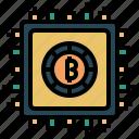 futuristic, technology, modern, digital, future, coin