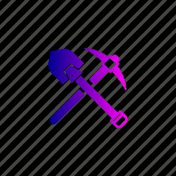 bitcoin, block, chain, mining, tool icon