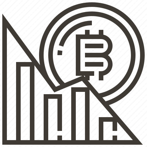 banking, bitcoin, currency, finance, graph, money icon