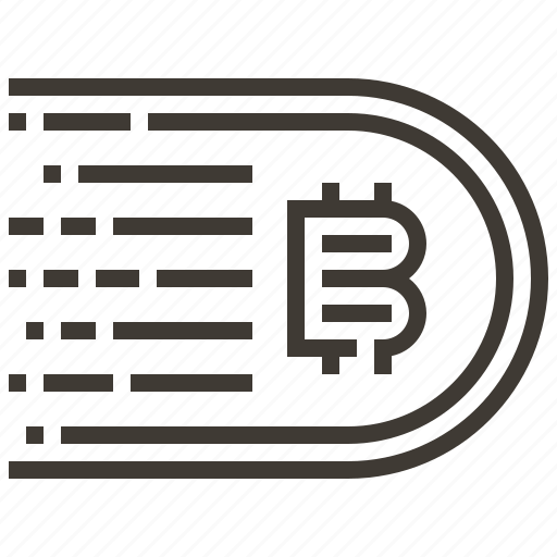 bitcoin, cash, currency, finance, money icon