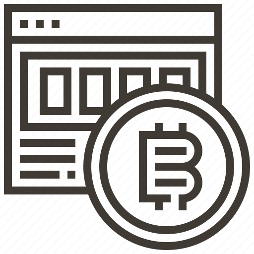 banking, bitcoin, currency, finance, money, payment icon