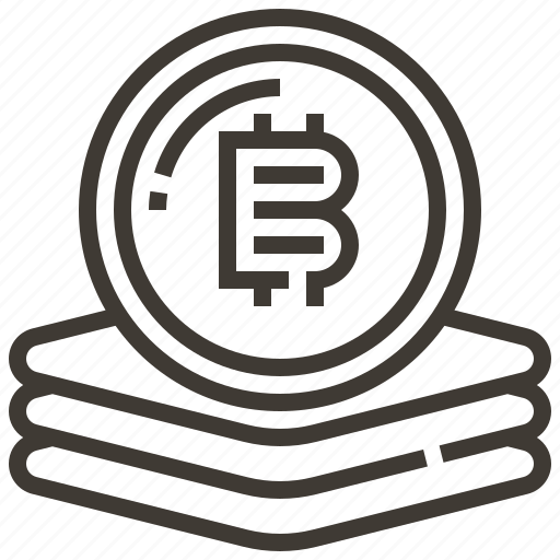 Currency, bitcoin, money, banking, finance, cash icon