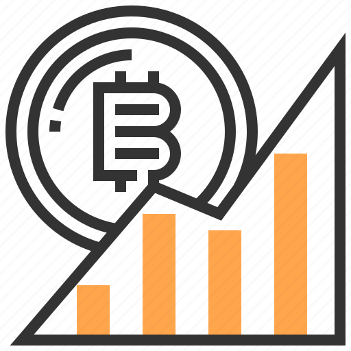 banking, bitcoin, cash, currency, finance, graph, money icon