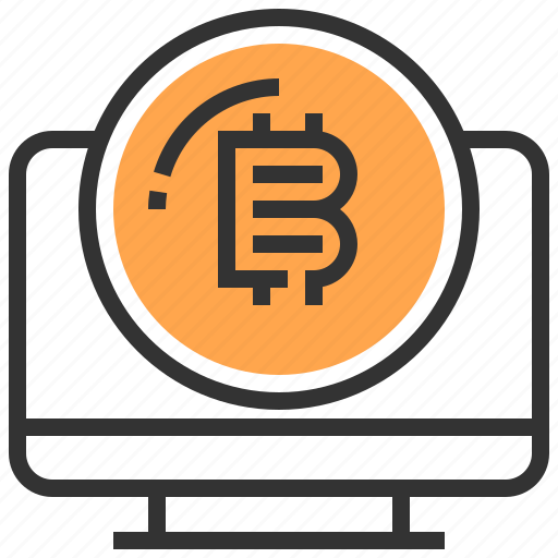 banking, bitcoin, coin, computer, currency, finance, money icon
